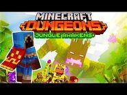 🍂Minecraft Dungeons- Jungle Awakens DLC Dingy Jungle Mission 🍂