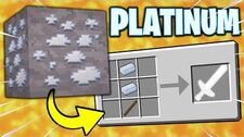 If_PLATINUM_ORE_Was_Added_to_Minecraft