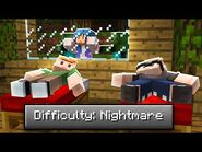 I TROLLED My Friends With NIGHTMARE DIFFICULTY (Minecraft)