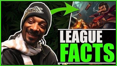 GRAVES 420 EASTER EGG?! - League of Legends Easter Eggs League Facts 2 Deutsch