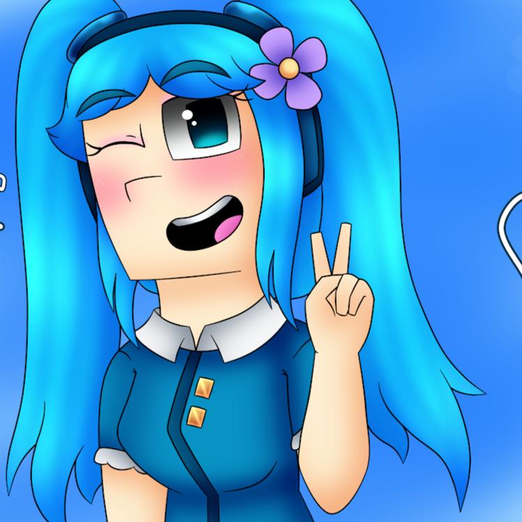 BlueGirlStarlette