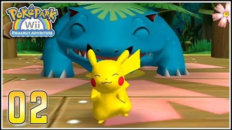 PokéPark_Wii_Capítulo_2_-_ANIMANDO_A_VENUSAUR_(p^-^)p