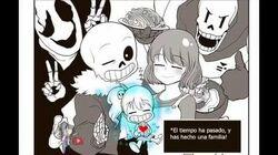 (Comic_Undertale)_Hicimos_una_familia_(Español)~Parte_1~