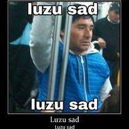 Luzu sad
