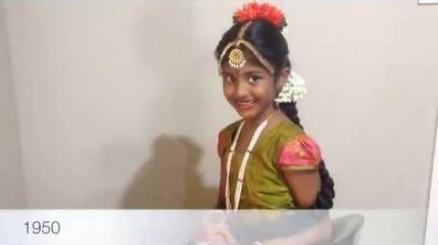 100 years of Beauty in one minute South India (Megha)