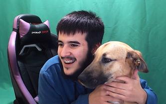 Tisan, el perro de GG