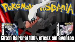 Glitch_capturar_a_Darkrai_en_Pokémon_Diamante_y_Perla_sin_evento_(100%_eficaz)_Pokémon_Hispania