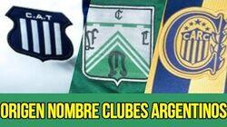 Origen_nombre_clubes_argentinos._Nombres_de_profesión.