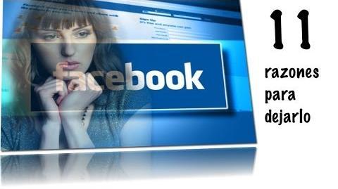 11 razones para dejar Facebook