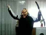 Zombie bailando el Chichingorri
