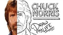 CHUCK_NORRIS_(RANGER_DE_TEXAS)_Draw_My_Life