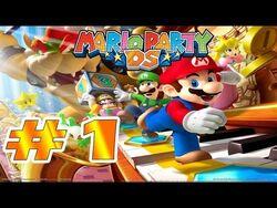 """DS_-_Mario_Party_DS_Parte_1_""""El_jardín_de_Floruga_y_Planta_Piraña""""_Comentando"""