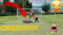 ¡EPIC_RETO_de_FUTBOL_-_PENALES_CIEGOS_CHALLENGE!!!_con_CASTIGO_ASQUEROSO!!!