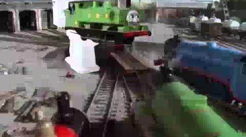 Some Trains Fock Around With Ducks