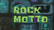 Rock Motto