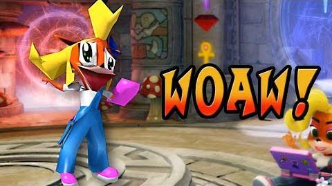 """Woaw!"" Coco Bandicoot on drugs (parody of Crash Bandicoot ""Woah!"")"
