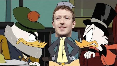 Scrooge McDank Plots to Assassinate Mark Zuckerbeak