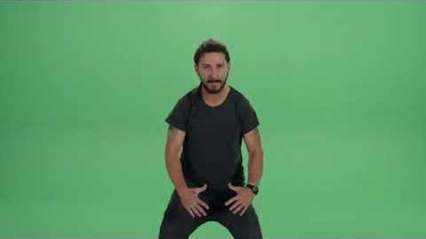 """Shia LaBeouf delivers the most intense motivational speech of all-time - """"Just Do It"""" Video"""