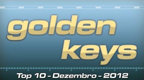 GOLDEN KEYS - DEZEMBRO 2012 (TOP 10 POOPS DO MÊS)