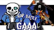 Brook VS Sans Rap Battle of GAAA 9