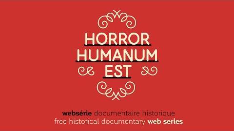 Horror humanum est