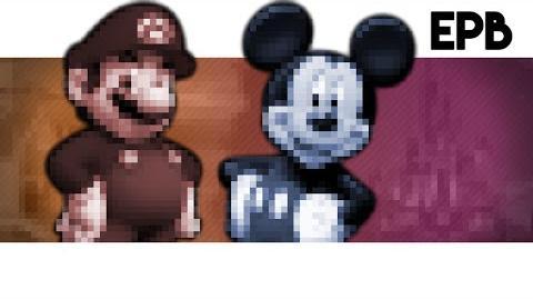 Mario_Vs_Mickey_-_Epic_Pixel_Battle_EPB_01