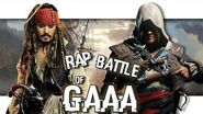 Jack Sparrow VS Edward Kenway Rap Battle of GAAA 13