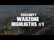 Highlights -1 ll Mejores jugadas en Warzone