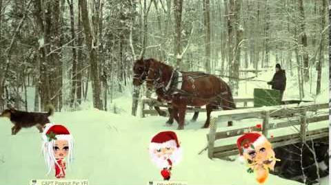 A Snowy Sleigh Ride in YoVille..