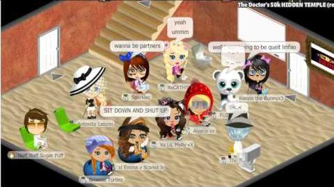 Yoville Fuzzy Bear Secret Temple Competetion Part 1