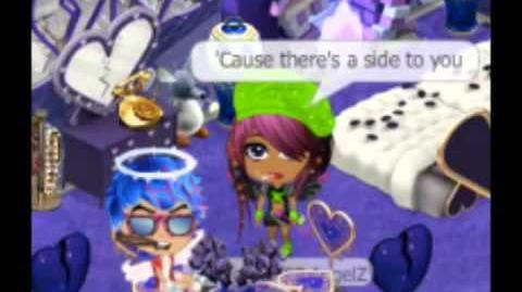 Set Fire To The Rain (Adele) Lyric Video - Yoville Style