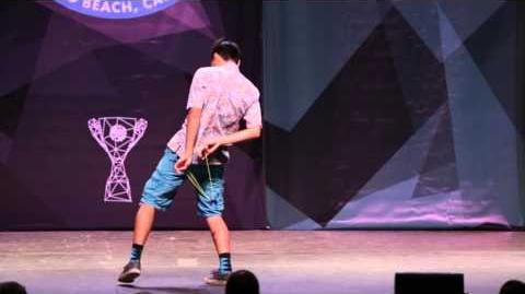 Evan Nagao - 1A Final - 5th Place - 2015 US National Yo-Yo Contest