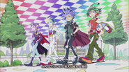 Arc V Ed 6 Yūya,Yūto,Yūgo and Yūri