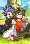 Arc V Yuto and Yuya Sakaki