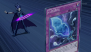 Yuto activates Phantom Fog Blade