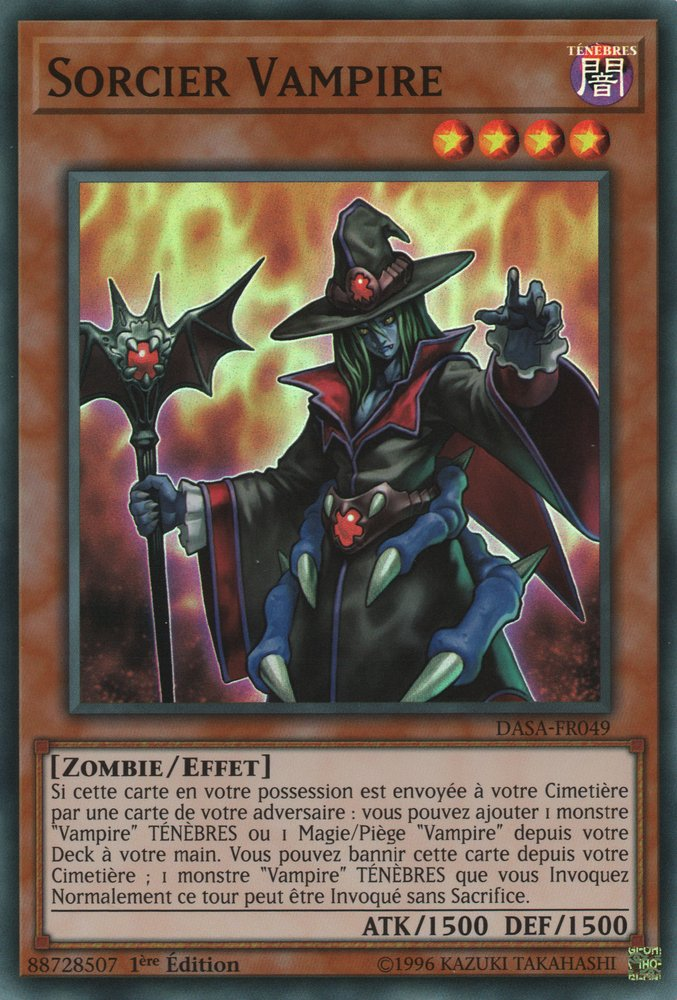 Sorcier Vampire