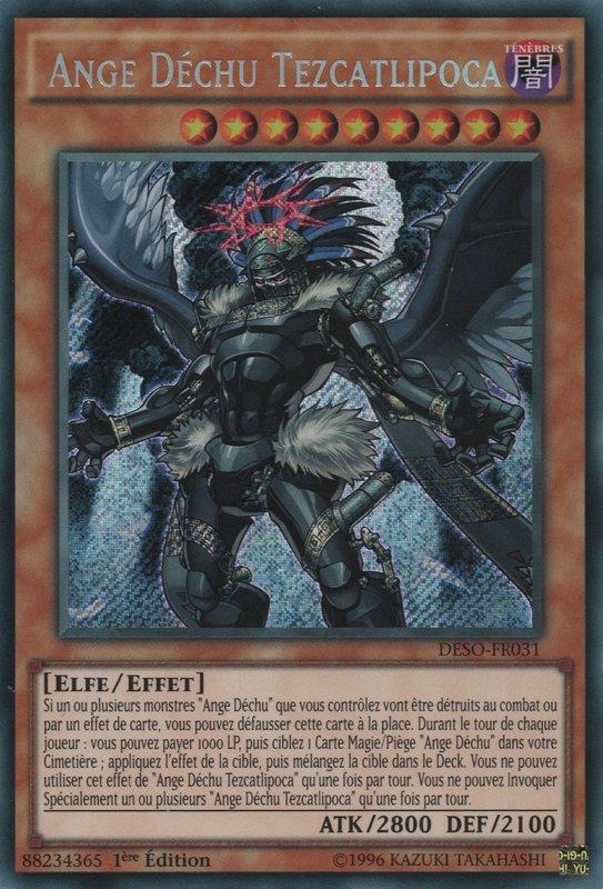 Ange Déchu Tezcatlipoca