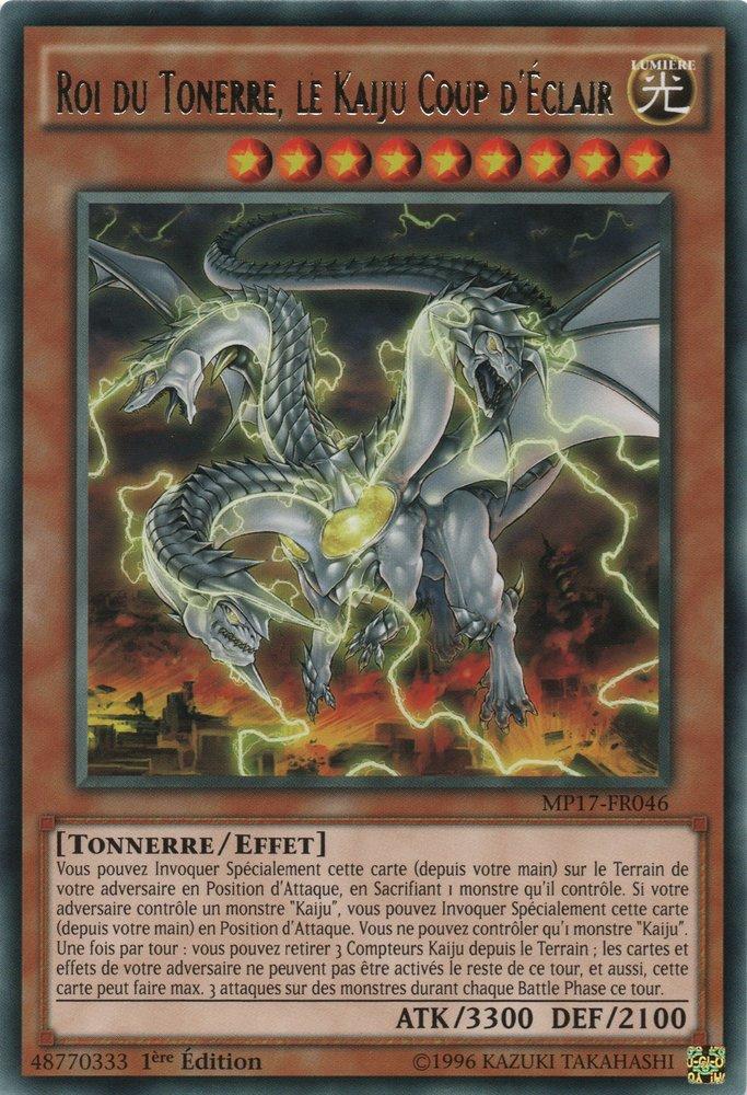 Roi du Tonerre, le Kaiju Coup d'Éclair