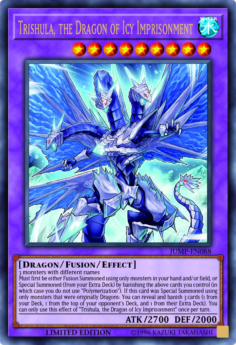 Trishula, Dragon de l'Emprisonnement Glacial