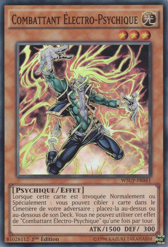 Combattant Électro-Psychique