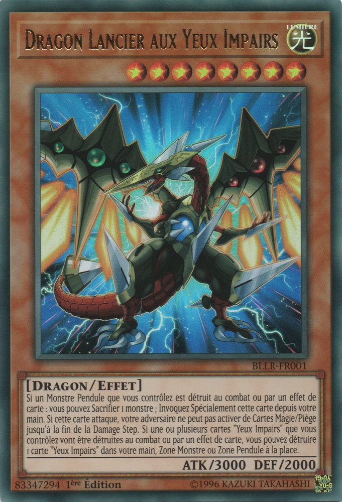Dragon Lancier aux Yeux Impairs