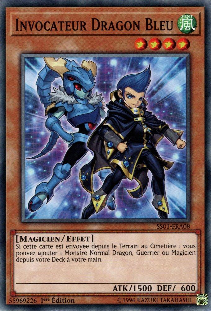 Invocateur Dragon Bleu