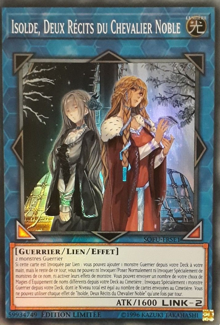 Isolde, Deux Récits du Chevalier Noble