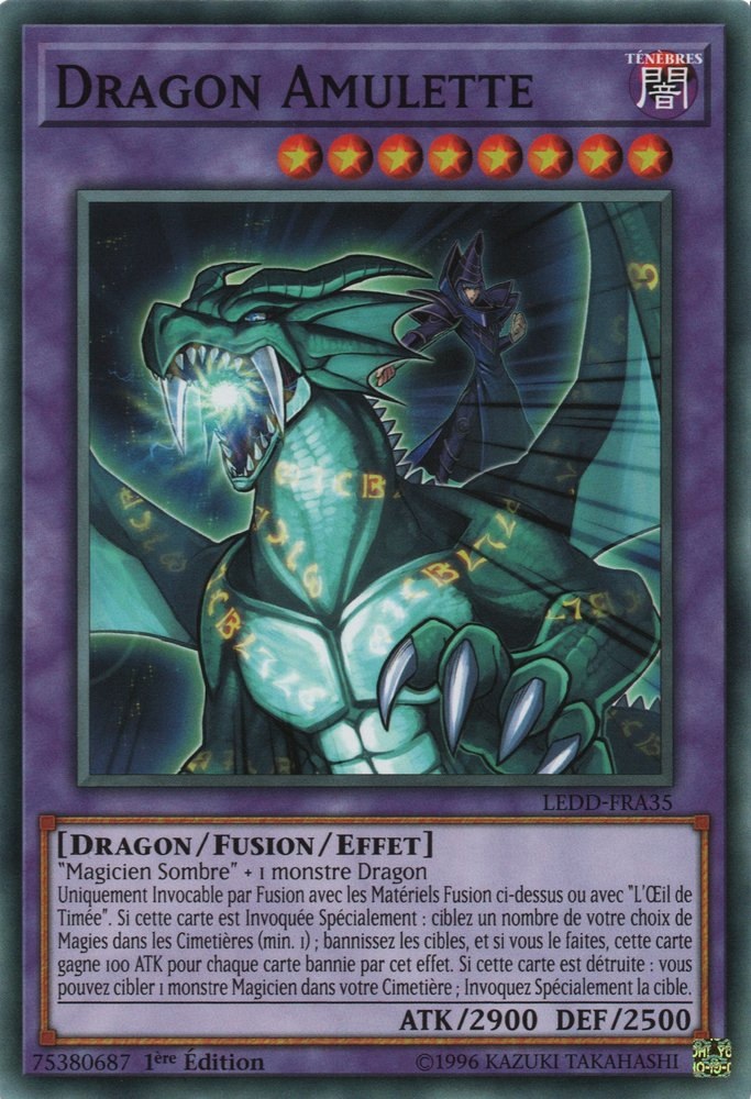 Dragon Amulette