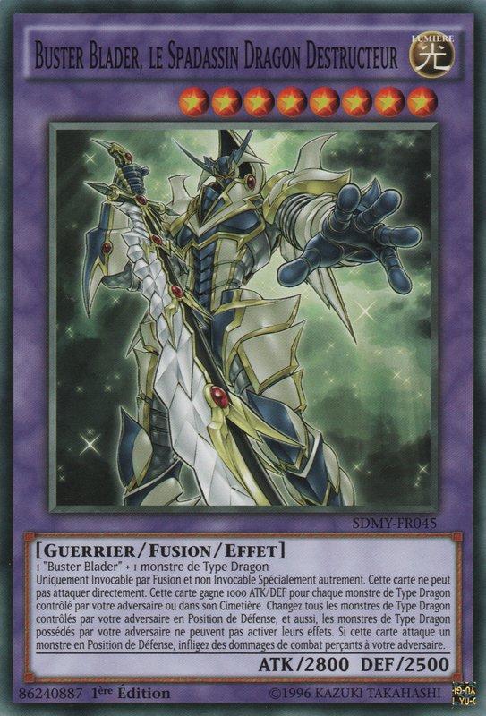 Buster Blader, le Spadassin Dragon Destructeur