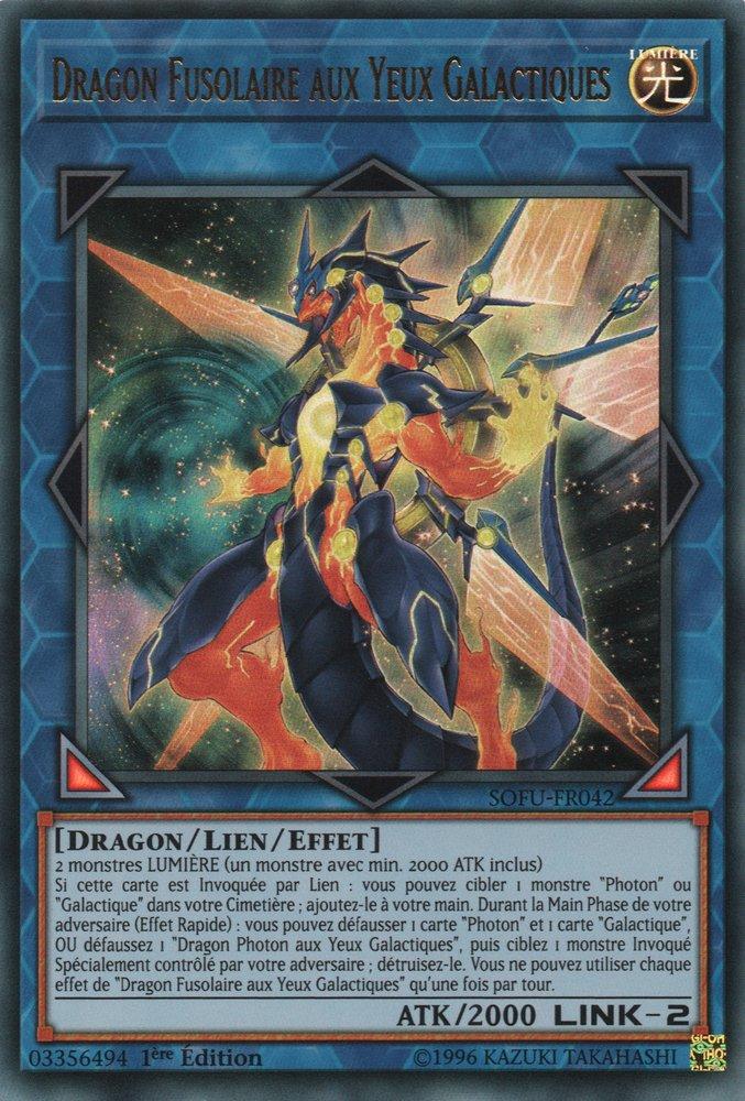 Dragon Fusolaire aux Yeux Galactiques
