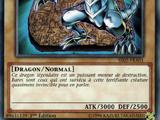 Dragon Blanc aux Yeux Bleus