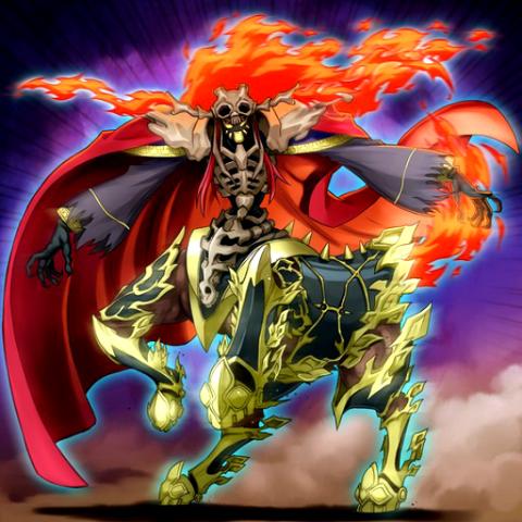 Cavalier Crâne Infernal
