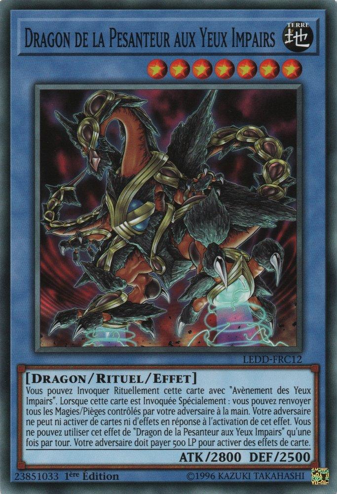 Dragon de la Pesanteur aux Yeux Impairs