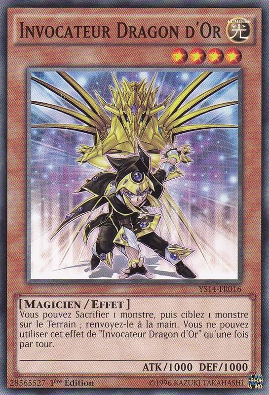 Invocateur Dragon d'Or